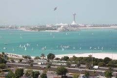 Abu Dhabi, Vereinigte Arabische Emirate Lizenzfreie Stockfotografie