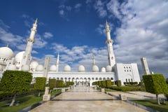 Abu Dhabi, Vereinigte Arabische Emirate, am 4. Januar 2018: Ansicht von Lizenzfreie Stockbilder