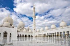 Abu Dhabi, Vereinigte Arabische Emirate, am 4. Januar 2018: Ansicht von Lizenzfreie Stockfotos