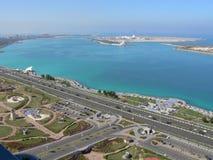 Abu Dhabi, Verenigde Arabische Emiraten royalty-vrije stock afbeelding