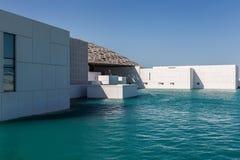 Abu Dhabi, Verenigde Arabische Emiraten, 5 December, 2017: Het Louvre Royalty-vrije Stock Foto's