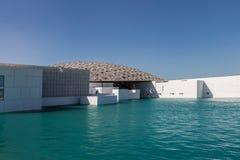 Abu Dhabi, Verenigde Arabische Emiraten, 5 December, 2017: Het Louvre Stock Afbeeldingen