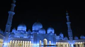 abu dhabi wielkiego meczetu Obrazy Royalty Free