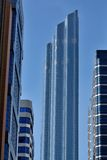 Abu Dhabi Wolkenkratzerskyline Lizenzfreies Stockbild