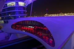 ABU DHABI - YAS JACHTHAFEN-HOTEL Stockbild