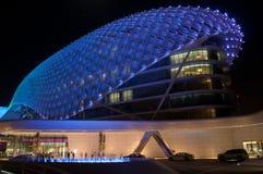 ABU DHABI - YAS JACHTHAFEN-HOTEL Stockbilder