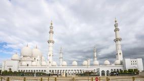 Abu Dhabi, Zjednoczone Emiraty Arabskie, STYCZEŃ 04, 2018: Widok Fotografia Stock
