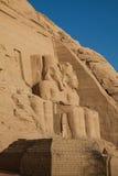 abu Egypt simbel Fotografia Royalty Free