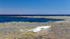 Abu Galum und das blaue Loch Lizenzfreies Stockbild