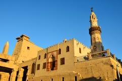 Abu Haggag Mosque Stockfotos