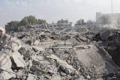 Abu khadra废墟 免版税图库摄影