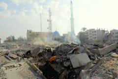 Abu khadra废墟 库存图片