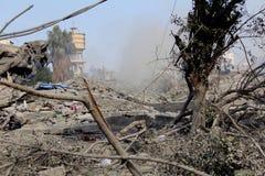 Abu khadra Ruinen Stockfotos