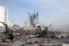 Abu khadra Ruinen Lizenzfreie Stockfotos