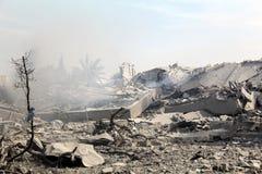 Abu khadra Ruinen Lizenzfreie Stockbilder