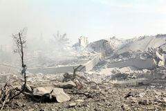 Abu khadra ruins Stock Images