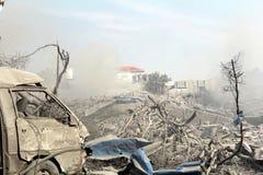 Abu khadra ruins Stock Photo