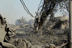 Abu khadra ruins Royalty Free Stock Photo