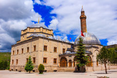 Abu'l Hasan Harakani Tomb und Evliya-Moschee Stockbild