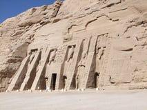 Abu Simbel极大的寺庙  免版税库存图片