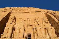 Abu simbel Ägypten Stockfotos