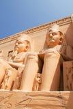 Abu-simbel Ägypten Lizenzfreie Stockbilder
