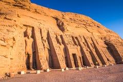 Abu Simbel, Ägypten Lizenzfreies Stockbild