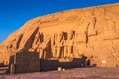 Abu Simbel, Ägypten Stockfotos