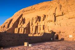 Abu Simbel, Ägypten Lizenzfreie Stockfotos