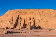Abu Simbel, Ägypten Stockfotografie