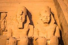 Abu Simbel, Ägypten Lizenzfreie Stockbilder