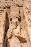 Abu Simbel, Ägypten Lizenzfreies Stockfoto