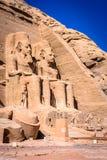 Abu Simbel, Ägypten Lizenzfreie Stockfotografie
