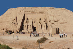 Abu simbel Ägypten Lizenzfreies Stockfoto