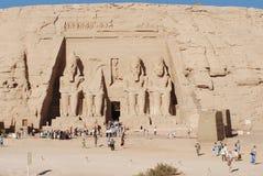 Abu simbel Ägypten Stockbild