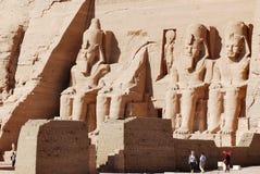 Abu simbel Ägypten Stockfoto