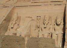 Abu Simbel in Ägypten Lizenzfreies Stockfoto