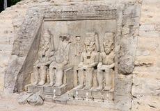 Abu Simbel, Ägypten. Klagenfurt, Minimundus. Österreich Stockbild