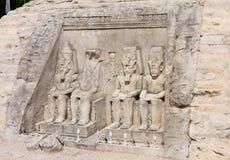 Abu Simbel, Ägypten Miniaturpark Österreich, Erholungsort Klagenfurt Stockfotos