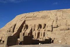 Abu Simbel świątynia Fotografia Royalty Free