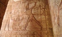 Abu Simbel świątynia Obraz Stock