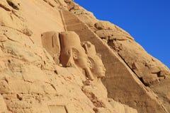 Abu Simbel świątynia Obrazy Royalty Free