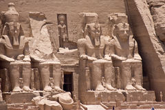 Abu Simbel Photos stock