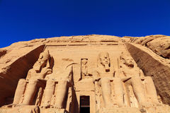 Abu Simbel Royalty Free Stock Photos
