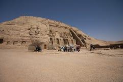 Abu Simbel Stock Afbeelding