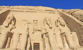 Abu Simbel 4 Royalty Free Stock Photo