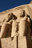Abu Simbel. Temple in Egypt Royalty Free Stock Images
