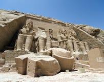 Abu Simbel 免版税库存照片