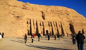 Abu Simbel Royalty Free Stock Photo