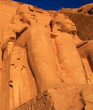 Abu Simbel Photographie stock